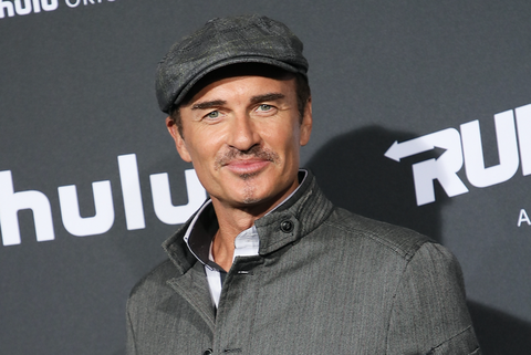 Julian McMahon arrives at the premiere of Hulu's 'Marvel's Runaways'