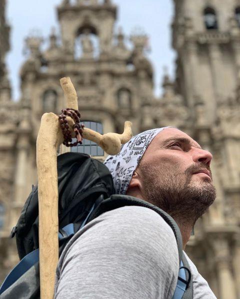 Julián Gil Camino de Santiago