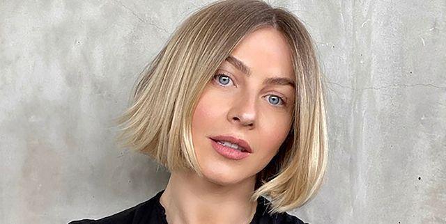 Julianne Hough S Hair Looks So Good Cut Into A Blunt Bob