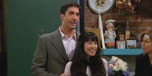 Julie in Friends - Ross en Rachel