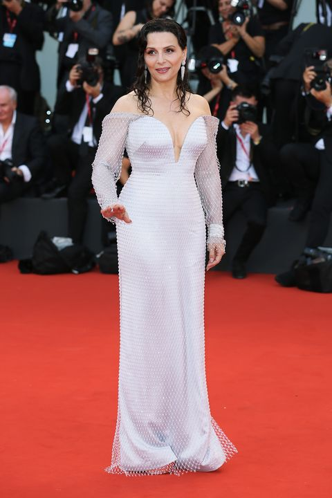 Juliette Binoche en el Festival de Cine de Venecia 2019