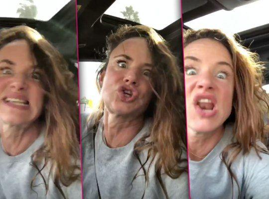 Juliette Lewis se vuelve loca cantando Britney Spears en Instagram - El vídeo más loco de Juliette Lewis en Instagram