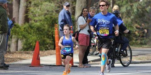 Juli Windsor, David Abel run Boston Marathon 2014