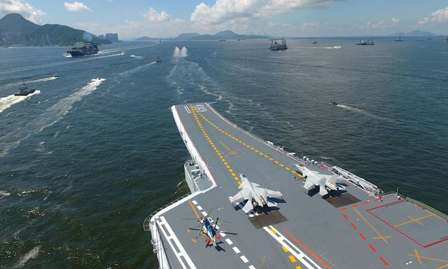 liaoning aircraft carrier mustin