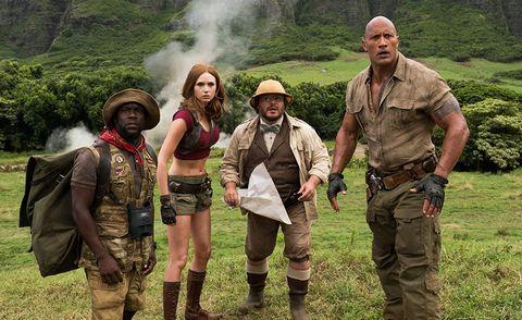 Jumanji Bienvenidos a la jungla (2017) Dwayne Johnson