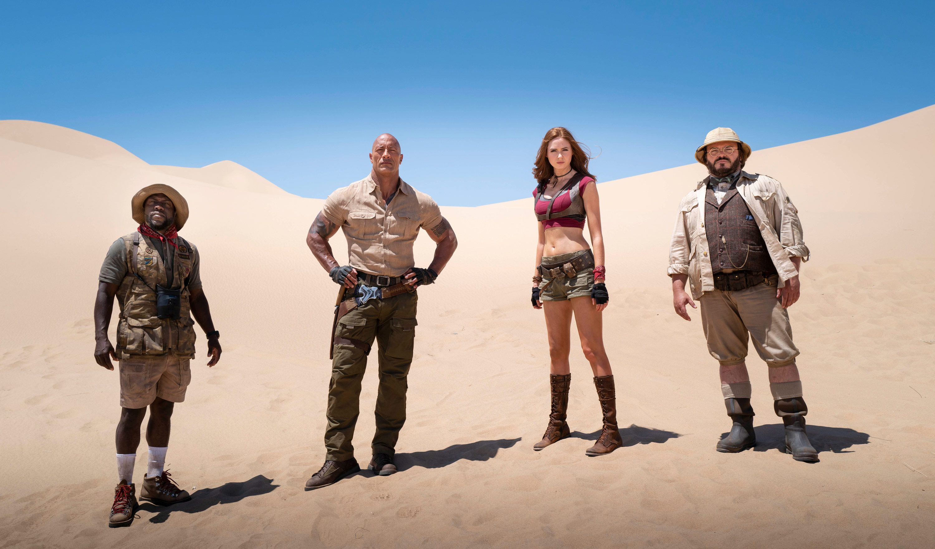 Jumanji: The Next Level first reactions say Dwayne Johnson's sequel is worthy of round 3