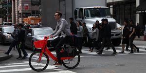 Uber Jumpbicicletas eléctricas trayectos cortos