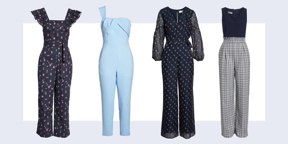 15 Dressy Jumpsuits For Wedding Guests 2018