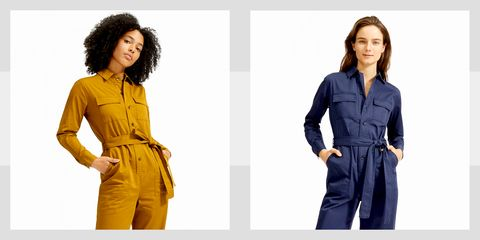 Clothing, Yellow, Fashion model, Standing, Fashion, Workwear, Waist, Outerwear, Sleeve, Suit,