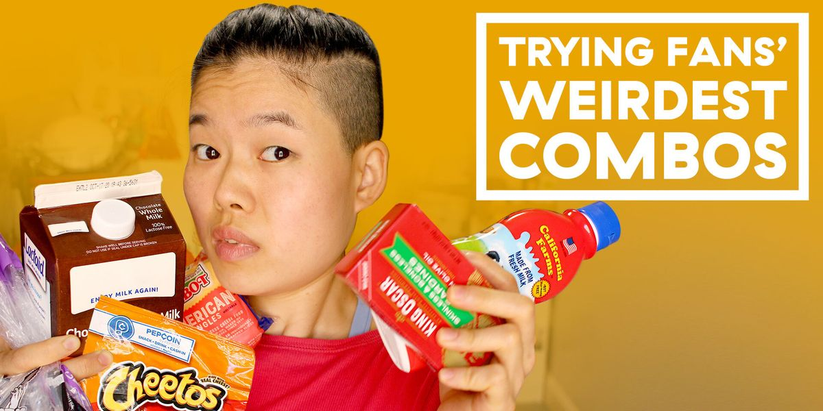 Eat What Now? June Tries Your Favorite Weird Food Combos