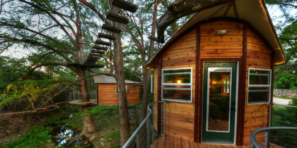 Cypress Valley Canopy Tours: Juniper & Willow treehouse