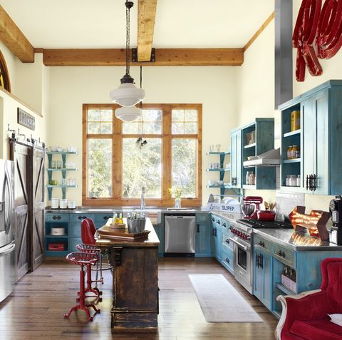 26 Kitchen Color Ideas Best Kitchen Paint Color Schemes