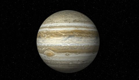 Jupiter on Star Field (XXXL)