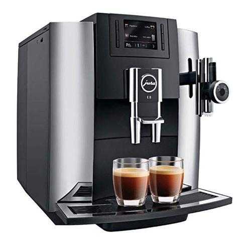 Espresso machine, Small appliance, Home appliance, Coffeemaker, Kitchen appliance, Drip coffee maker, Espresso, Cup, Coffee, Drink,