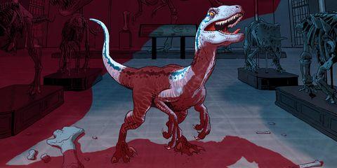 Ilustracion Jurassic World El Reino Caido