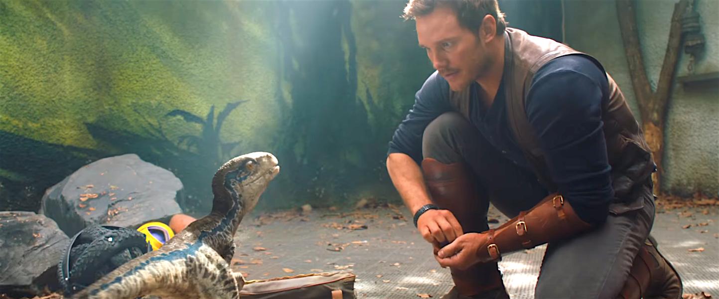 Jurassic World Fallen Kingdom - Chris Pratt Returns to the