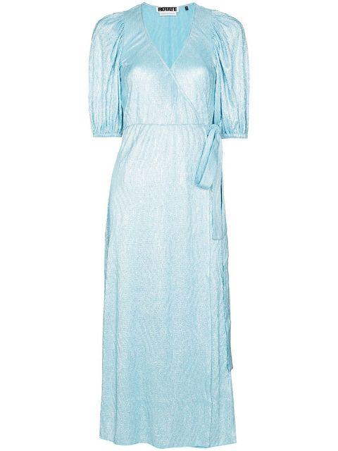 jurk metallic rotate far fetch mode trend 2020