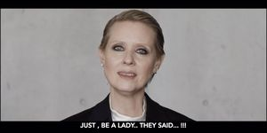 'Be a lady, they said' video gaat volledig viral en wordt massaal gedeeld.