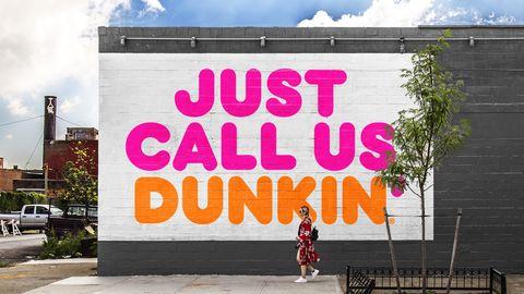 Pink, Street art, Text, Font, Wall, Mural, Advertising, Facade, Graffiti, Tree,