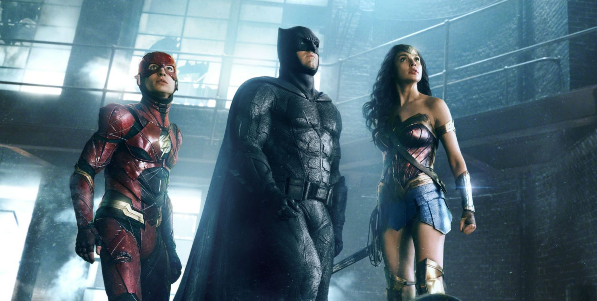 Justice League director Zack Snyder unveils early costumes for Batman, Aquaman and Flash