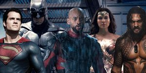 Batman, Superman, Deadshot, Wonder Woman, Aquaman, Worlds of DC