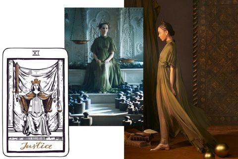 tarot cards   dior couture