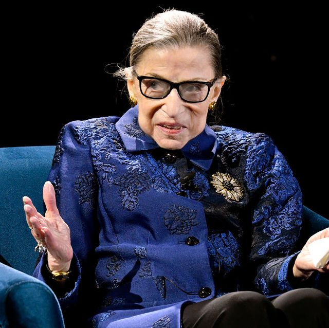 fourth annual berggruen prize gala celebrates 2019 laureate supreme court justice ruth bader ginsburg in new york city   inside
