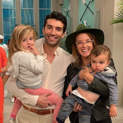 Justin Baldoni and Family