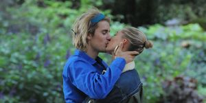 Justin Bieber And Hailey Baldwin Seen At St James Park In London