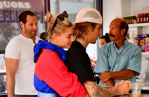 hailey baldwin and justin bieber may have gotten a puppy did