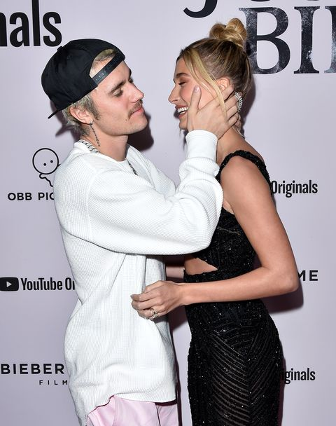 Justin Bieber and Hailey Baldwin Pack on the PDA During Their First Red Carpet Appearance as a Married Couple