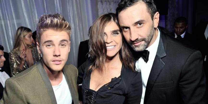 Justin Bieber Riccardo Tisci Carine Roitfeld Burberry