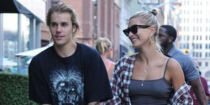 Justin Bieber en Hailey Baldwin in New York