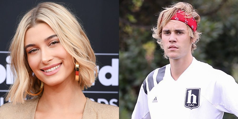 Justin Bieber Hailey Baldwin zoenen