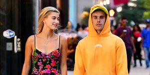 Hailey Baldwin en Justin Bieber in New York
