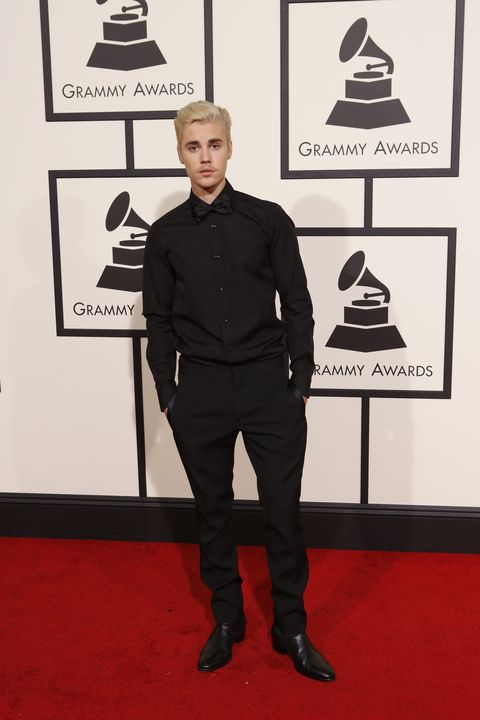 f14a6a68cf9a9 The 58th Annual Grammy Awards. Justin Bieber attends the Grammys in 2016