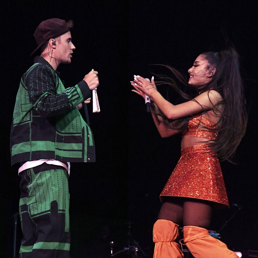 Justin Bieber, Ariana Grande, and Hailey Baldwin Responded to Morgan Stewart Suggesting Justin Lip-Synced at Coachella