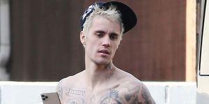 Justin Bieber, Paseo, Tatuajes, Justin Bieber tatuajes, Justin Bieber muestra tatuajes