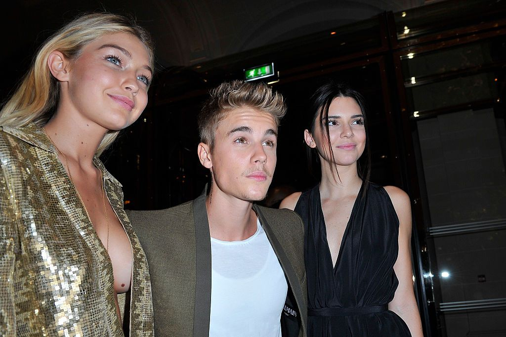 Justin Bieber just ranked Kendall, Gigi and Cara from favourite to least favourite