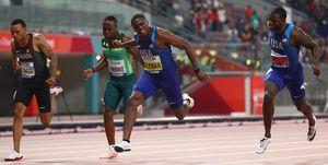 Christian Coleman, campeón mundial 100m lisos