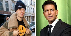 Justin Bieber reta a Tom Cruise a una pelea de MMA