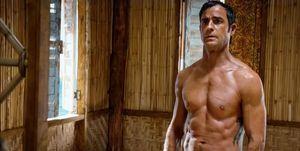 Justin Theroux desnudo