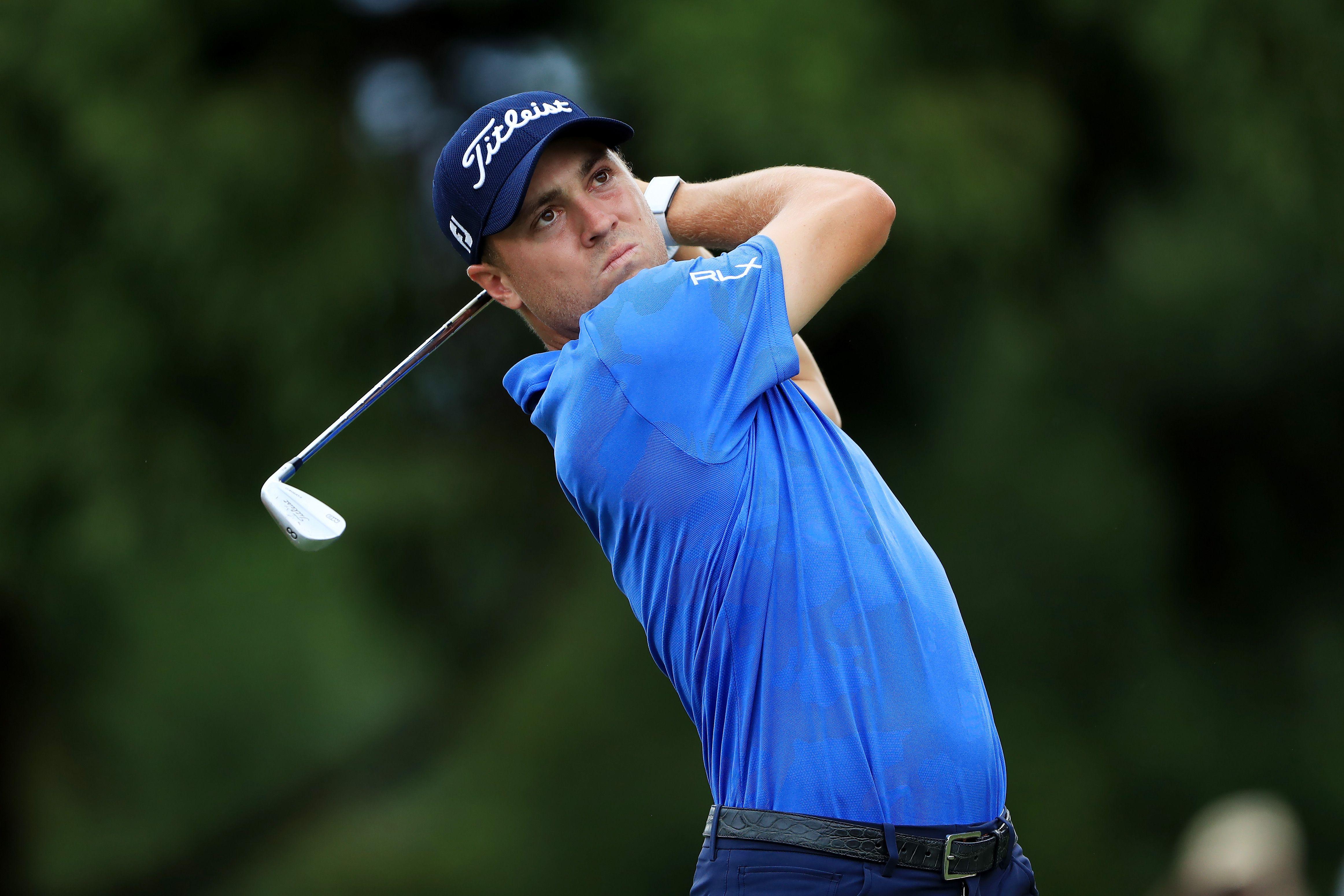 Golfer Justin Thomas Shares Melanoma Surgery Scar Photo On Instagram