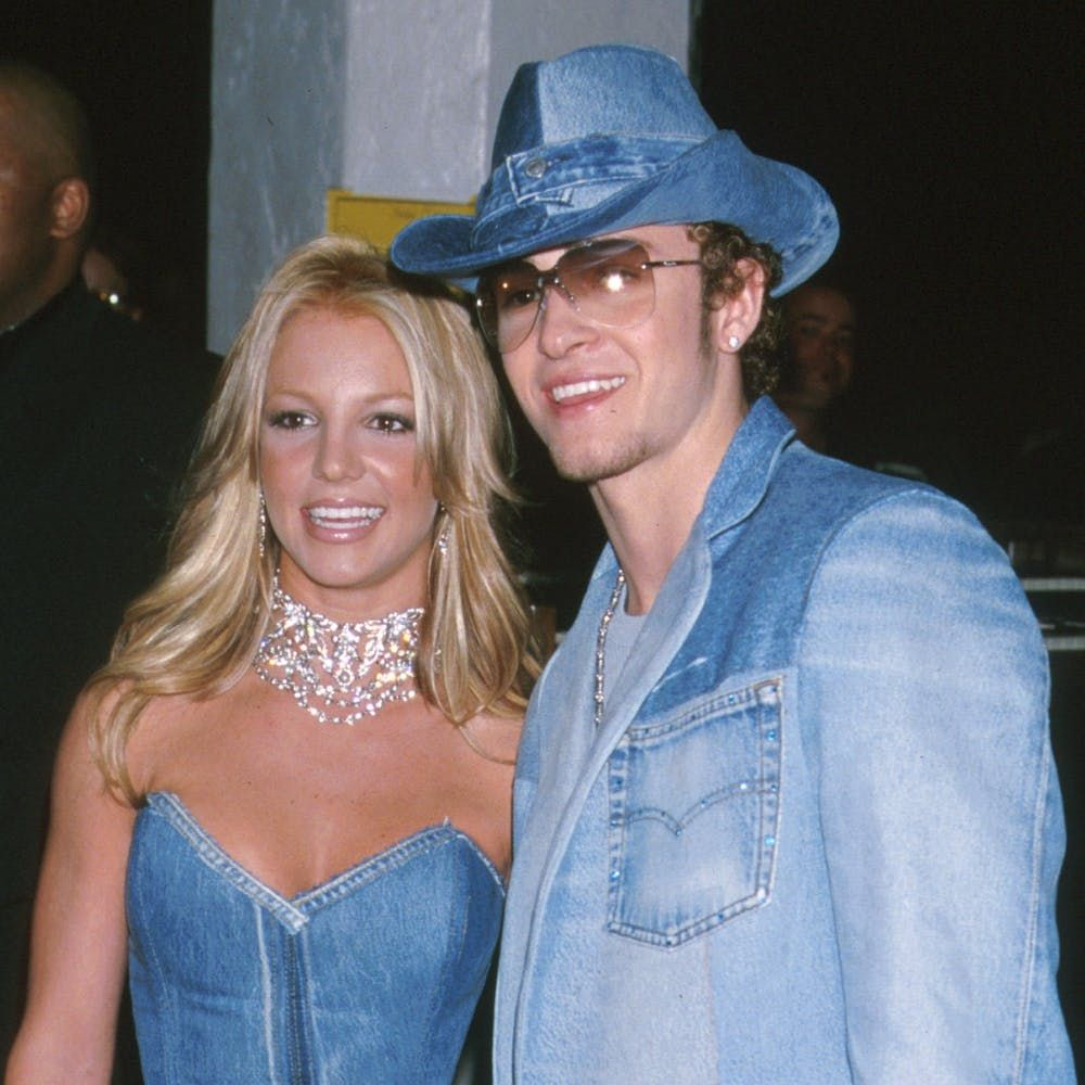 Remember When Britney Spears And Justin Timberlake Rocked Denim On Denim