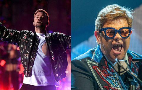 Justin Timberlake Elton John Rocketman