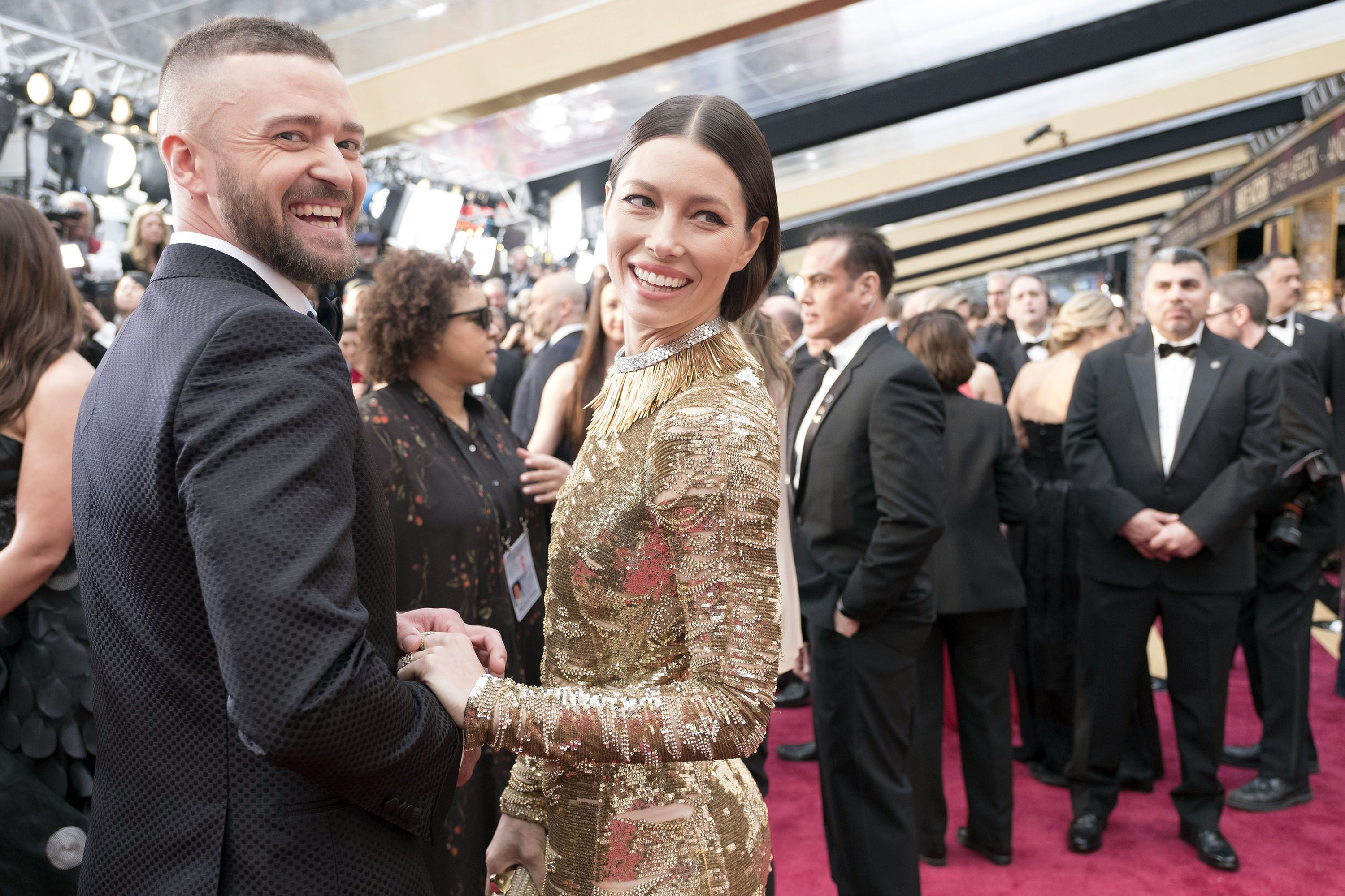 Justin Timberlake and Jessica Biel Gush About Each Other in Valentine's Day Instagram Posts