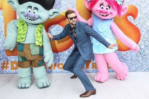 Justin Timberlake at the Trolls Movie Premiere Sydney