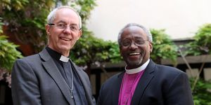 Archbishop of Canterbury Justin Welby and Bishop Michael Curry