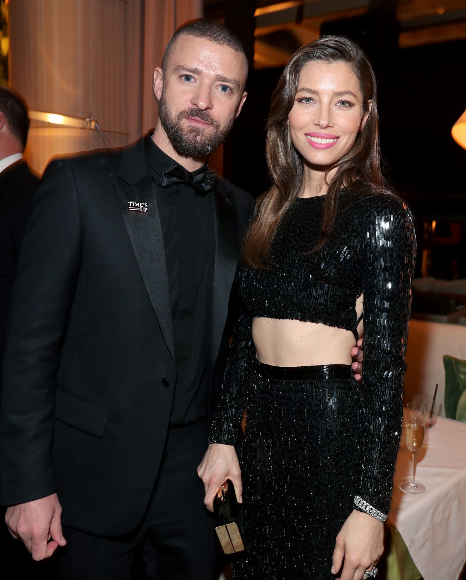 Justin Timberlake and Jessica Biel J & J had a mutual friend that made the intro which led to their love. The pair met in 2007, fresh out of other relationships (Biel with Chris Evans and Timberlake with Cameron Diaz), and so were not looking for anything serious.