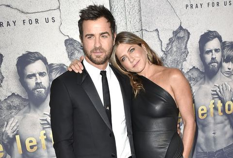 Justin Theroux and Jennifer Aniston split